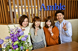 Amble hair design & healing 喜多町店